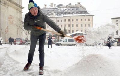 Сніговий колапс у Львові - це наслідки роботи команди Садового