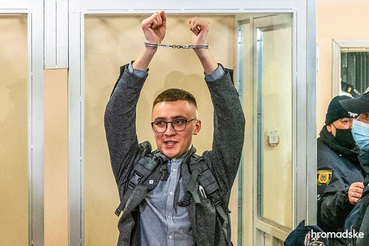 Сергій Стерненко у Приморському суді Одеси, 23 лютого 2021 року Фото: hromadske