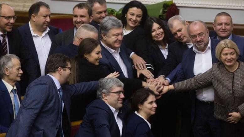 «Європейська Солідарність» очолила перше місце в рейтингу партій. Фото: Ірина Геращенко