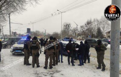 У Львові затримали групу злочинків. Фото: Варта1