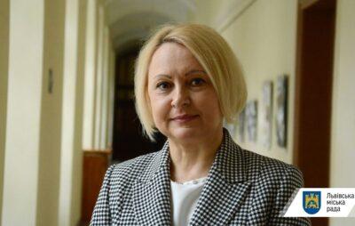 Міське управління охорони здоров'я очолила Леся Кобецька. Фото: ЛМР.