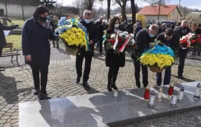 У Павлокомі вшанували пам'ять 366 вбитих українців. Фото: Ірина Гримак.