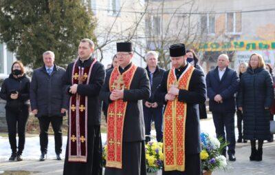 У Яворові вшанували пам'ять композитора Михайла Вербицького. Фото: Яворівська РДА.