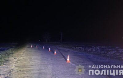 На Львівщині загинув пішохід. Фото: Нацполіція