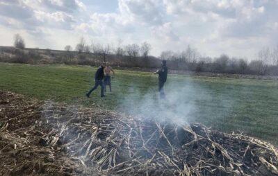 На Самбірщині паліїв сухої рослинності притягнуто до відповідальності. Фото: ЛОДА