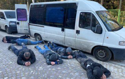 У Львові затримали групу злочинців, які викрадали обладнання з будівництв. Фото: Нацполіція