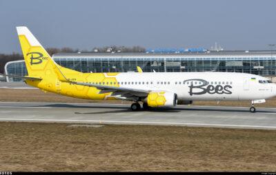 Лоукостера Bees Airline літатиме зі Львова до Києва