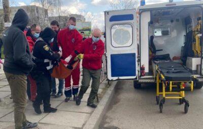 У Дрогобичі врятували чоловіка з епілепсією. Фото: Поліція Львівщини