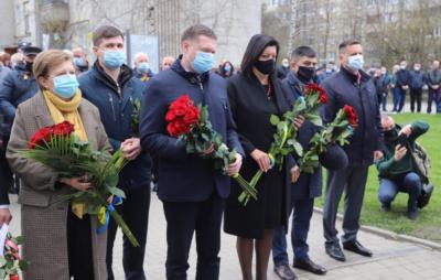 На Львівщині відзначають день пам`яті про Чорнобильську катастрофу. Фото: ЛОР
