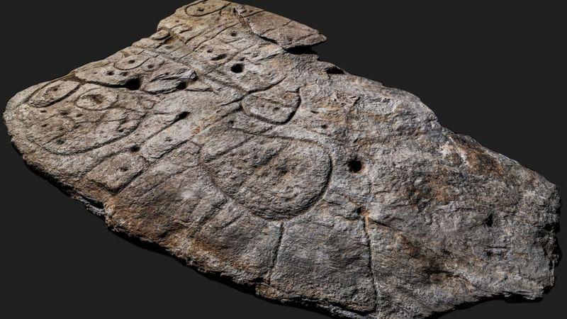 На камені зображені огорожі та дороги, вважають вчені