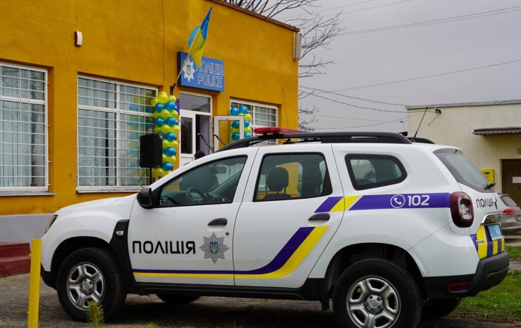 У Яворівському районі запрацювали ще дві поліцейські станції. Фото: Нацполіція