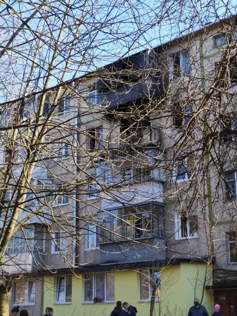 У Львові під час пожежі загинула жінка. Фото: Варта1
