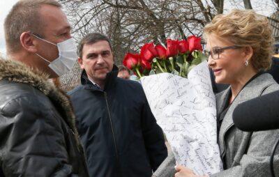 Юлія Тимошенко порушила плавила карантину. Світлини: Юля Тимошенко