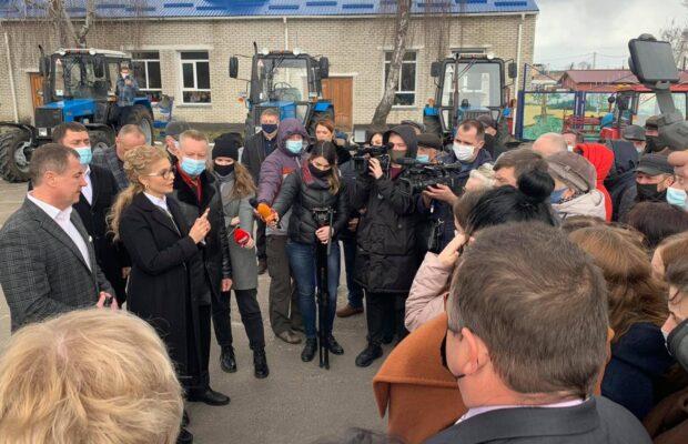 На Рівненщині Тимошенко порушила карантин. Фото: ЧаРівне