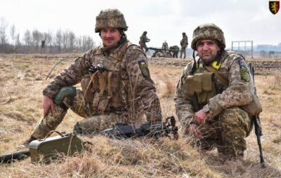На Яворівському полігоні проходять військові навчання. Фото: 24 ОМБр імені короля Данила