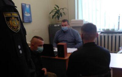 У Яворові затримали чоловіка, який погрожував підірвати будинок. Фото: Національна поліція