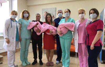 У Львівському перинатальному центрі у квітні народилося сім двієнь та дві трійні