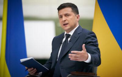 Прес-конференція до другої річниці інавгурації Володимира Зеленського. Фото: Офіс Президента