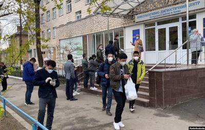 Вакцинація громадян Китаю, Київ, квітень 2021 року. Фото: Радіо Свобода