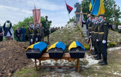 На Львівщині перепоховали воїнів УПА. Фото: ЄС
