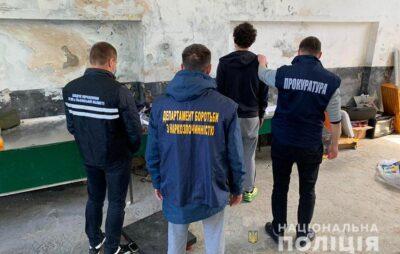 На Львівщині затримали наркоділка, який постачав пігулки з Євросоюзу. Фото: Нацполіція