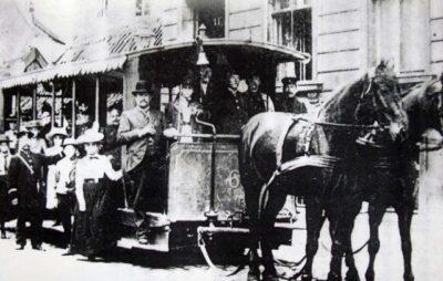 Першому кінному трамваю у Львові виповнився 141 рік. Фото: ЛМР