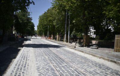Реконструкція вулиці Степана Бандери. Фото: ЛМР