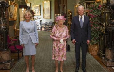 Єлизавета II прийняла Байдена у Лондоні. Фото: RoyalFamily