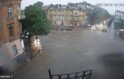 Негода у Львові. Фото: Зручне місто