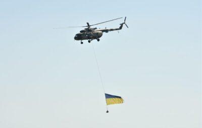 Літак з державним прапором України пролетить над Новояворівськом