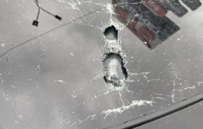 У машину помічника Зеленського стріляли. Фото: Нацполіція