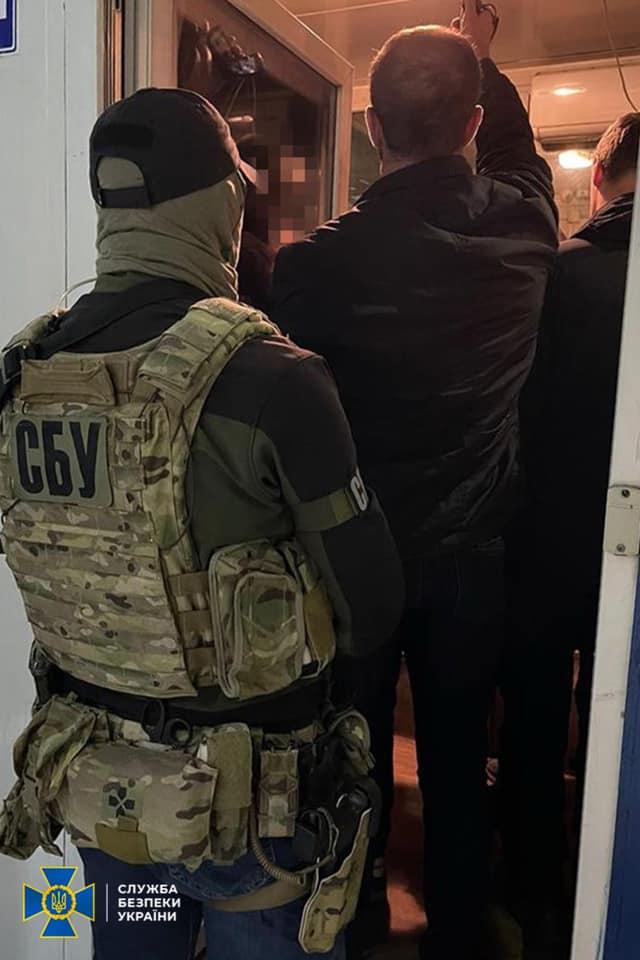 СБУ припинила функціонування корупційної схеми на Львівській митниці. Фото: СБУ