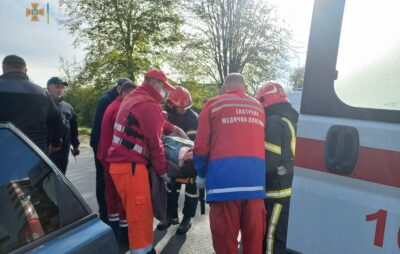 У Яворові внаслідок ДТП постраждало двоє людей