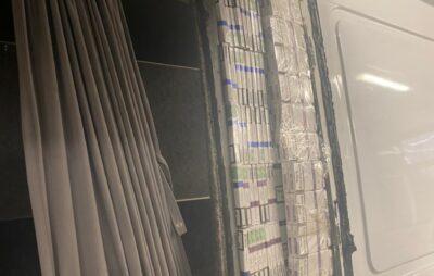 На кордоні з Польщею вилучили дві тисячі пачок сигарет
