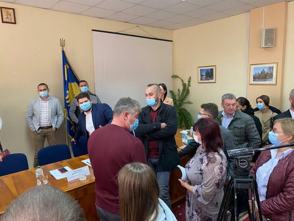 Сесія Львівської районної ради