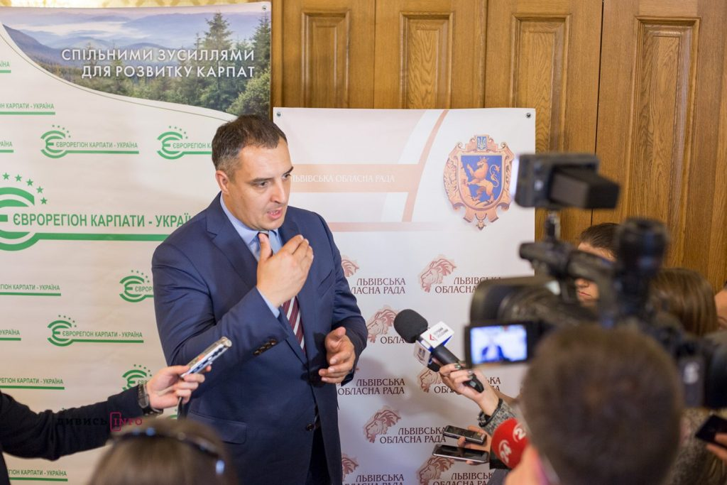 Голова Львівської обласної ради Олександр Ганущин. Фото Дивись Інфо