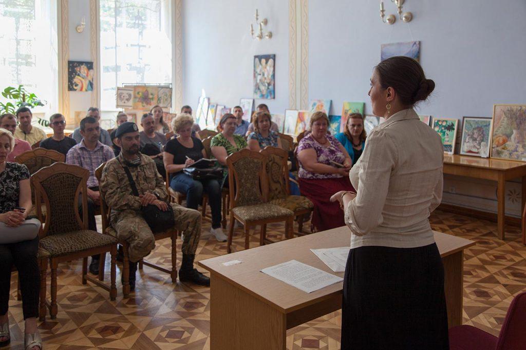 Засідання Громадського Руху Інформаційного Захисту України