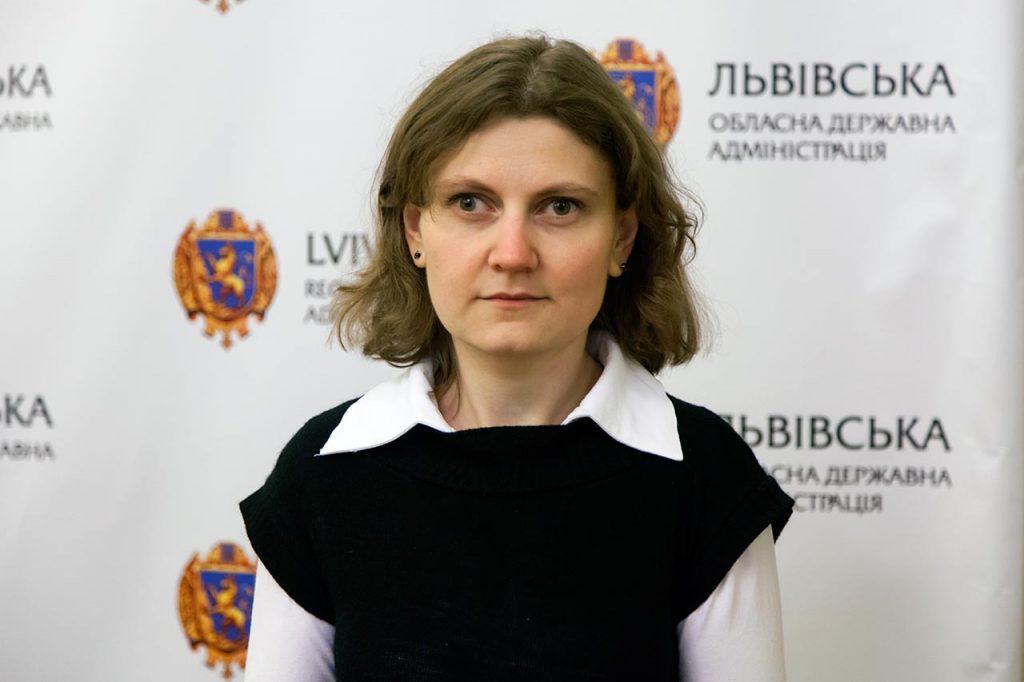 Вчений секретар Державного меморіального музею Михайла Грушевського у Львові Софія Легін