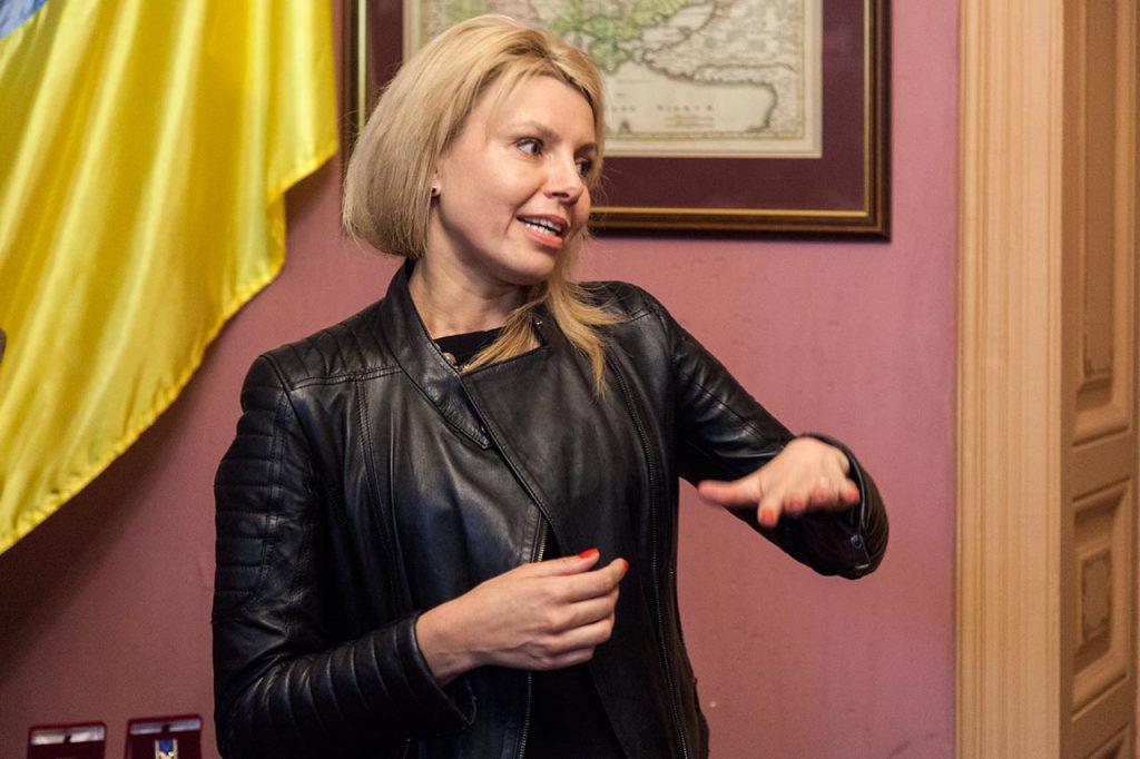Директор департаменту з питань культури, національностей та релігій Мирослава Туркало