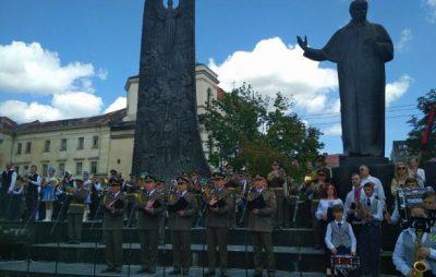 Оркестри з усіх районів області спільно виконали Державний гімн