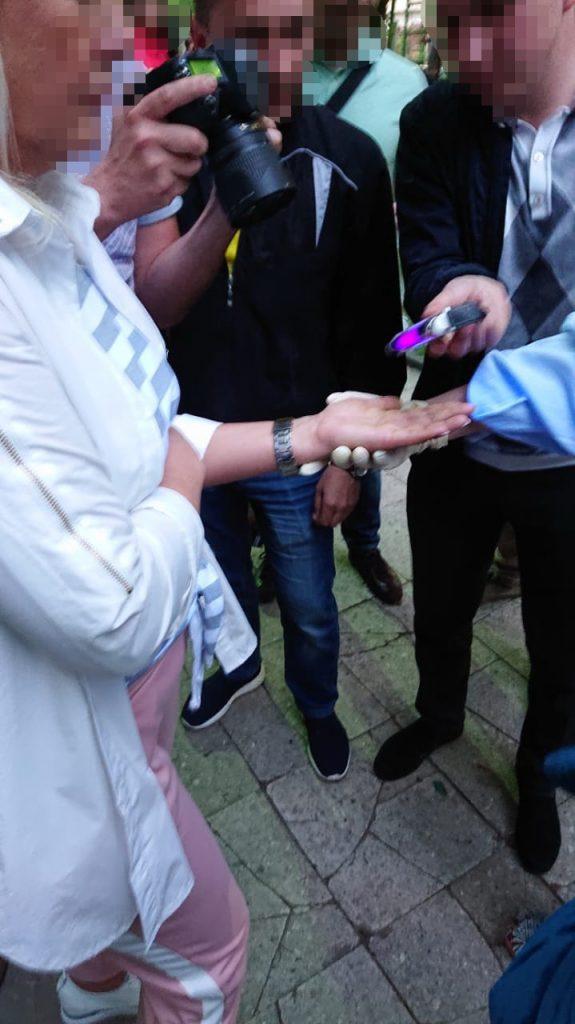 Людину Садового затримали за фактом вимаганням хабара в АТОвця