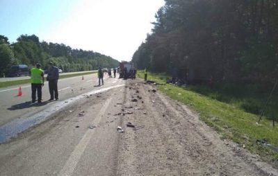 Жахлива аварія на Львівщині