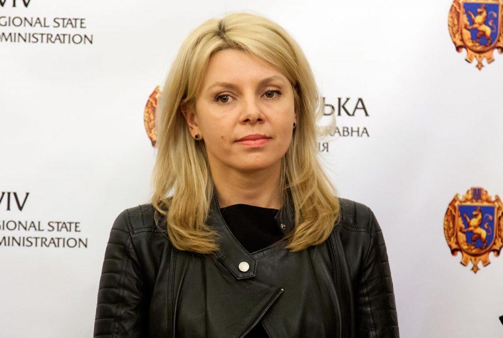 Директор департаменту з питань культури, національностей та релігій ЛОДА Мирослава Туркало