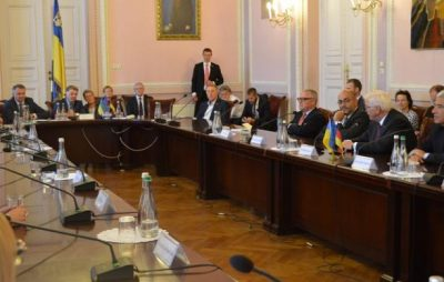 Президент Німеччини зустрівся зі студентами Львівського університету імені Івана Франка