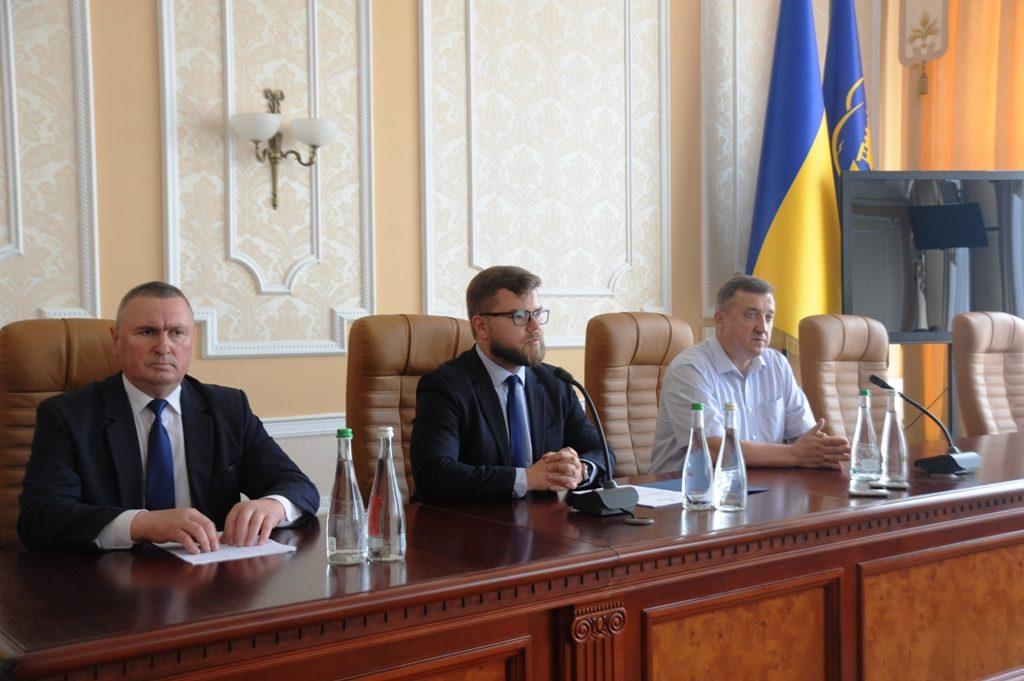Представлення нового начальника Львівської залізниці