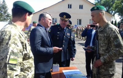 У Держприкордонслужбі майже 400 строковиків присягнули на вірність українському народові