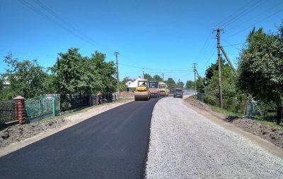 На Львівщині триває ремонт доріг