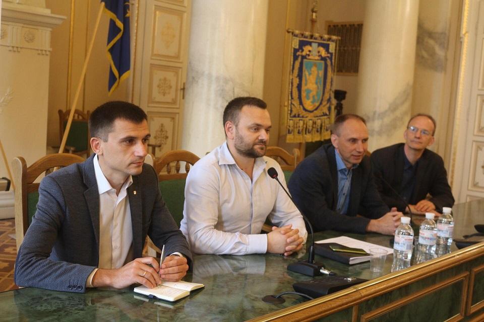 На Львівщину приїхали студенти з Німеччини