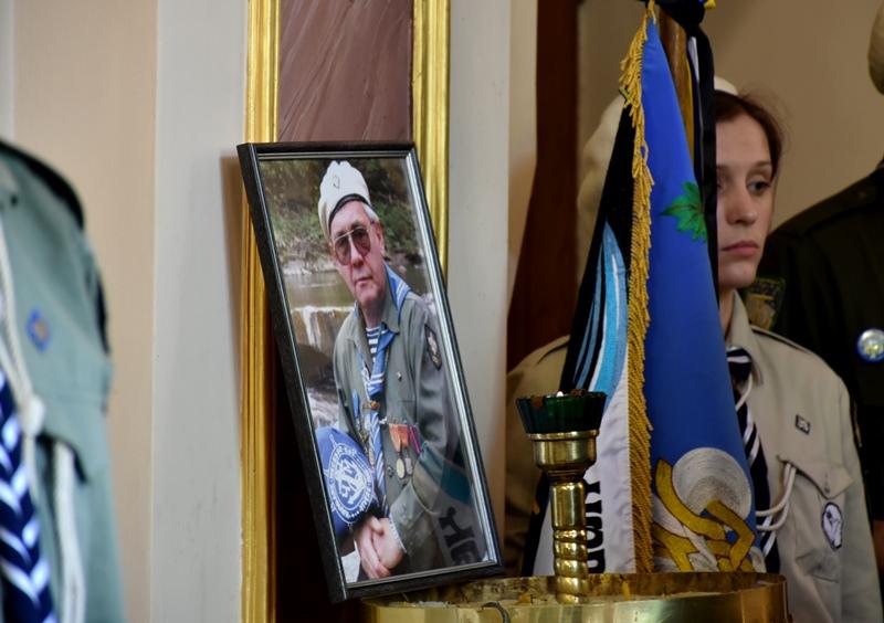 Львівщина попрощалась із відомим пластуном Олесем Криськівом