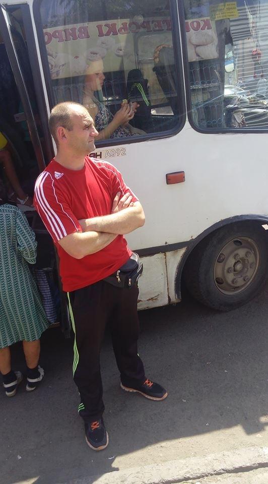 У Стрию водій маршрутки відмовився везти учасника АТО